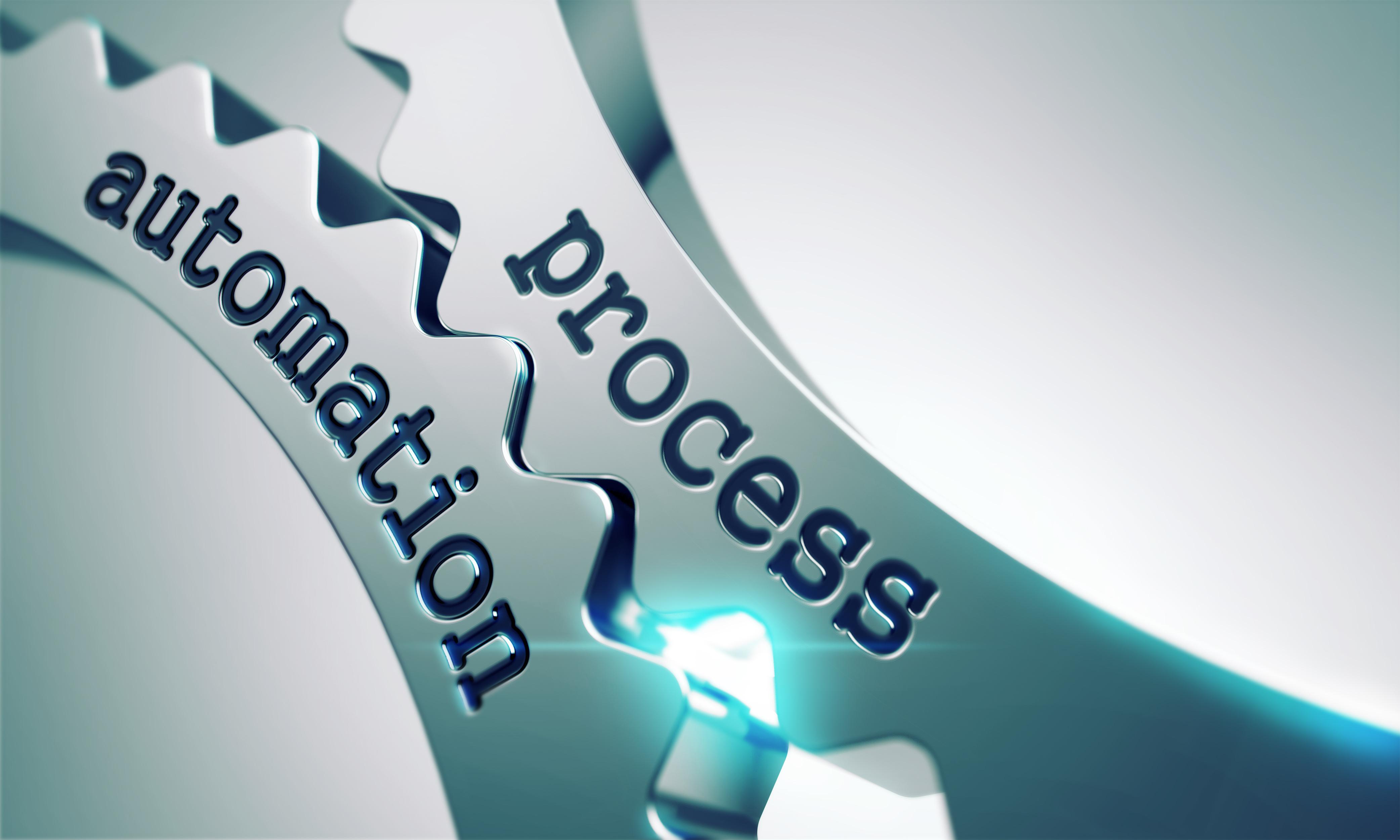 Process Automation written on gears