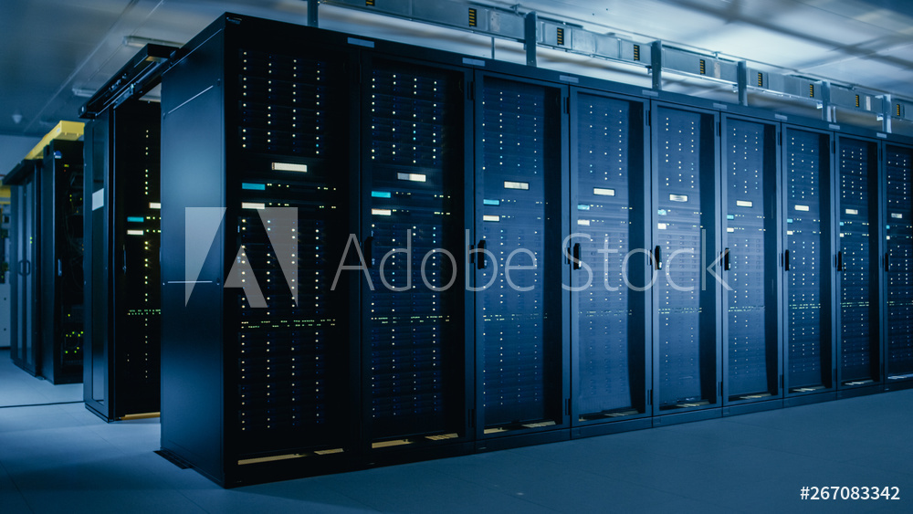 Photo of server room